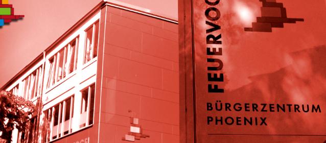 Feuervogel,  Bürgerzentrum Phoenix, Hamburg